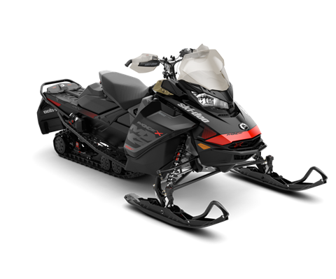2018 Ski-Doo MXZ X 850 E-TEC w/ Adj. Pkg. Ice Ripper XT 1.25 in Ponderay, Idaho
