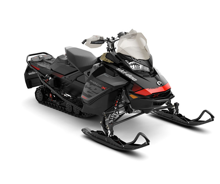 2018 Ski-Doo MXZ X 850 E-TEC w/ Adj. Pkg. Ice Ripper XT 1.25 in Speculator, New York