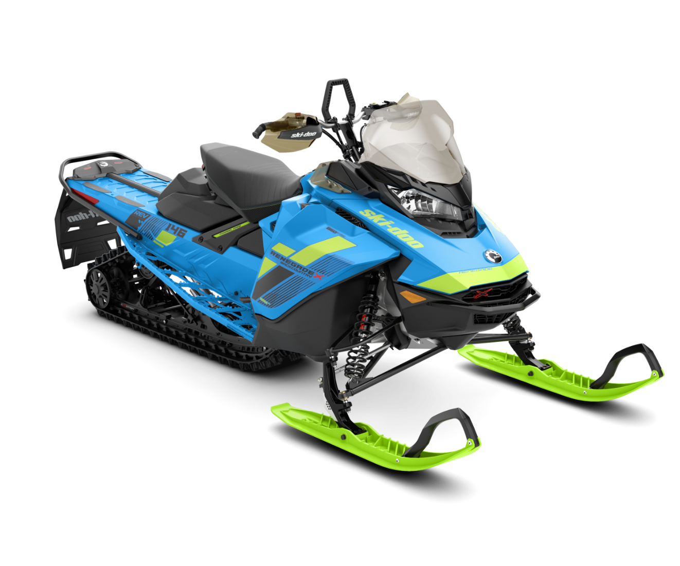 2018 Ski-Doo Renegade Backcountry X 850 E-TEC ES Ice Cobra 1.6 in Wenatchee, Washington