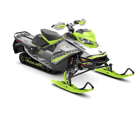 2018 Ski-Doo Renegade X-RS 850 E-TEC ES w/ Adj. Pkg. Ice Cobra 1.6 in Massapequa, New York