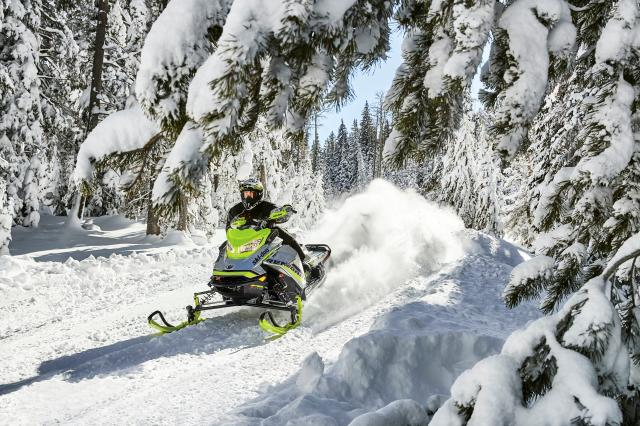 2018 Ski-Doo Renegade X-RS 850 E-TEC ES w/ Adj. Pkg. Ice Cobra 1.6 in Colebrook, New Hampshire