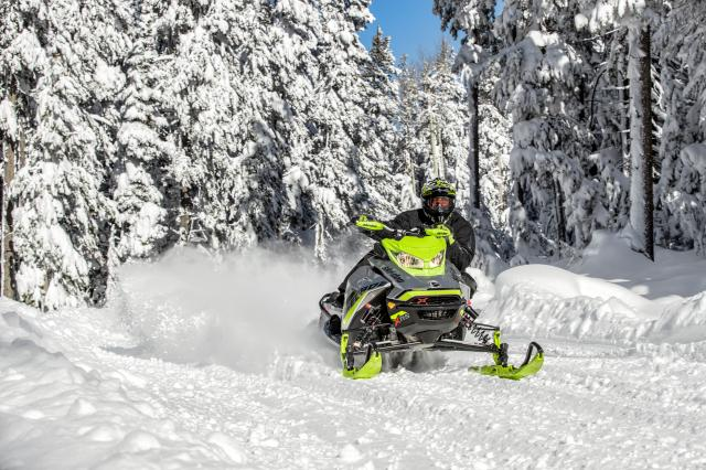 2018 Ski-Doo Renegade X-RS 850 E-TEC ES w/ Adj. Pkg. Ice Cobra 1.6 in Inver Grove Heights, Minnesota