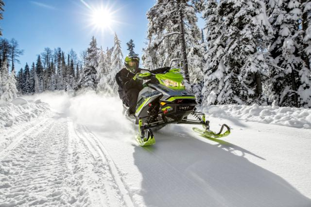 2018 Ski-Doo Renegade X-RS 850 E-TEC ES w/ Adj. Pkg. Ripsaw 1.25 in Speculator, New York