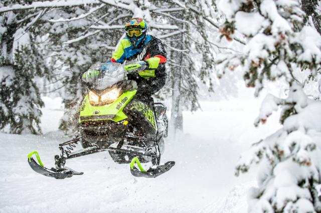 2018 Ski-Doo Renegade X 1200 4-TEC ES w/ Adj. Pkg Ice Cobra 1.6 in Boonville, New York