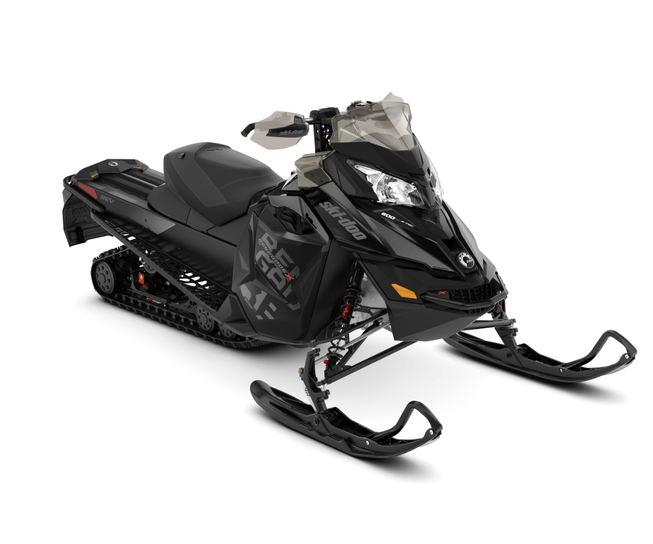 2018 Ski-Doo Renegade X 600 HO E-TEC ES Ice Cobra 1.6 in Presque Isle, Maine
