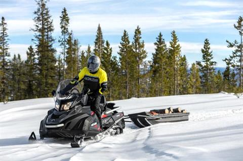 2018 Ski-Doo Skandic SWT 600 H.O. E-TEC in Colebrook, New Hampshire