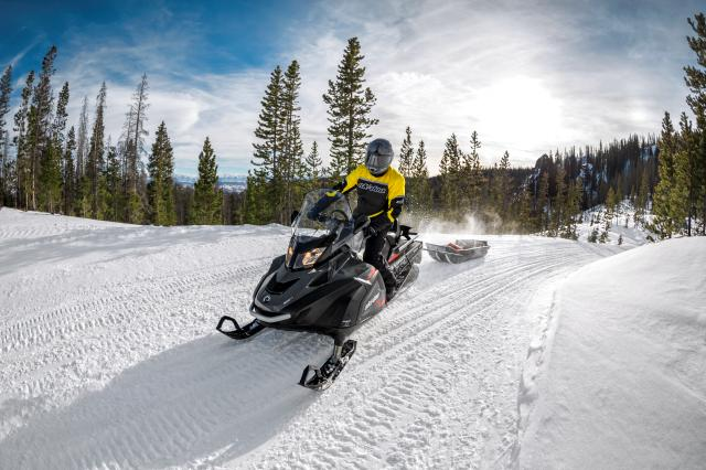 2018 Ski-Doo Skandic SWT 600 H.O. E-TEC in Salt Lake City, Utah