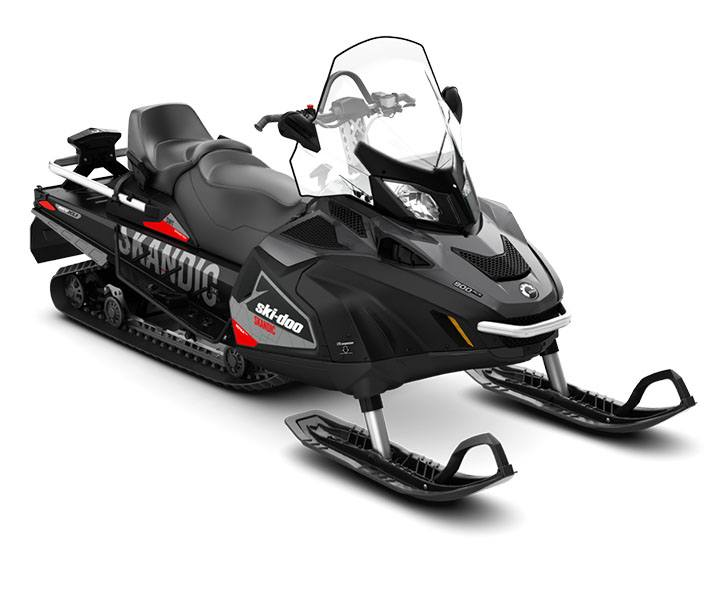 2018 Ski-Doo Skandic SWT 900 ACE in Colebrook, New Hampshire