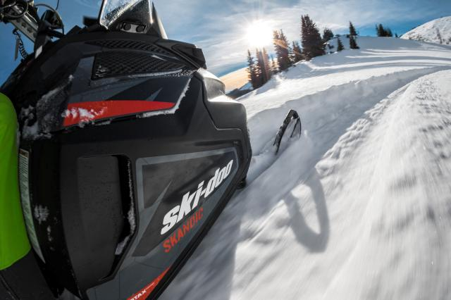 2018 Ski-Doo Skandic WT 600 HO E-TEC in Salt Lake City, Utah