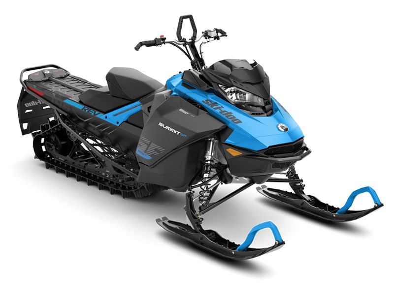 2019 Ski-Doo Summit SP 146 850 E-TEC ES, PowderMax II 2.5 w/Flexedge in Colebrook, New Hampshire