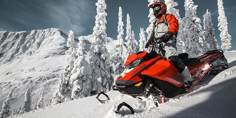 2019 Ski-Doo Summit SP 154 600R E-TEC ES PowderMax Light 2.5 w/ FlexEdge in Massapequa, New York