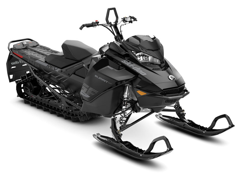2019 Ski-Doo Summit SP 165 850 E-TEC SHOT PowderMax Light 3.0 w/ FlexEdge in Sierra City, California