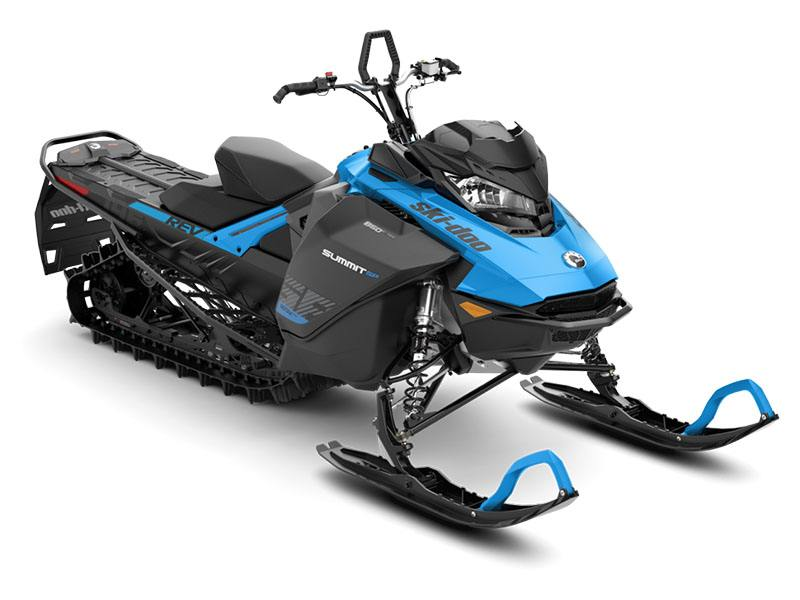2019 Ski-Doo Summit SP 165 850 E-TEC SHOT PowderMax Light 3.0 w/ FlexEdge in Honeyville, Utah - Photo 1