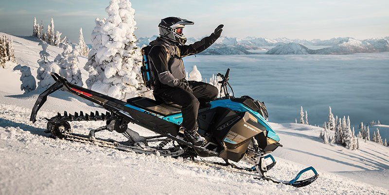 2019 Ski-Doo Summit X 154 850 E-TEC ES PowderMax Light 2.5 w/ FlexEdge SL in Elk Grove, California - Photo 2