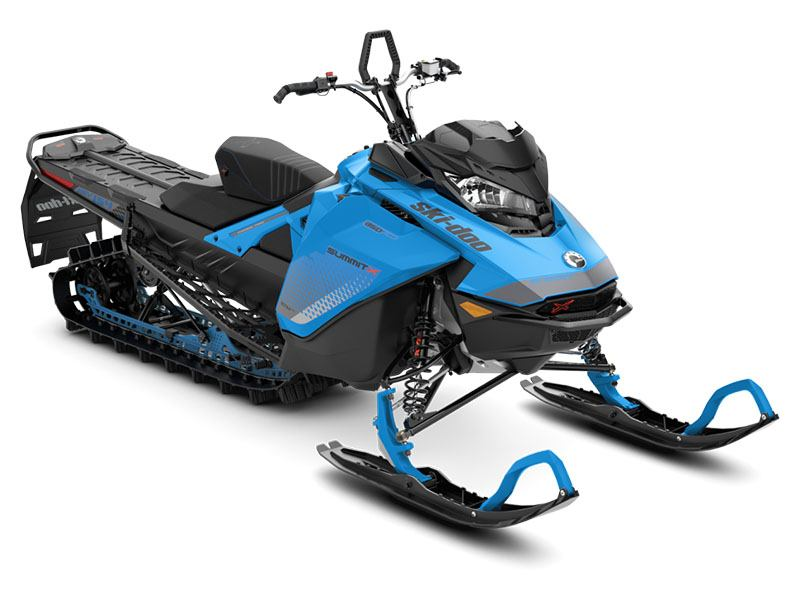 2019 Ski-Doo Summit X 154 850 E-TEC ES PowderMax Light 2.5 w/ FlexEdge SL in Unity, Maine - Photo 1