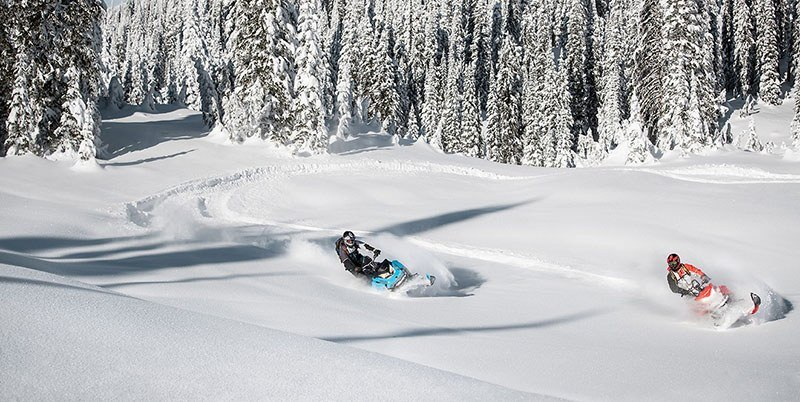 2019 Ski-Doo Summit X 154 850 E-TEC ES PowderMax Light 3.0 w/ FlexEdge SL in Island Park, Idaho