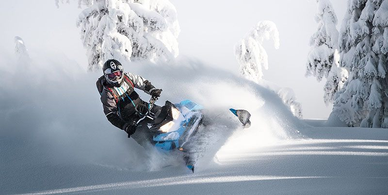 2019 Ski-Doo Summit X 154 850 E-TEC PowderMax Light 2.5 H_ALT in Sierra City, California