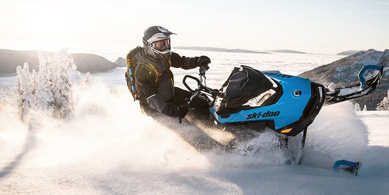2019 Ski-Doo Summit X 154 850 E-TEC PowderMax Light 3.0 H_ALT in Island Park, Idaho