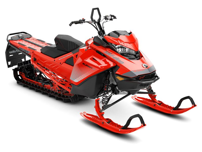 2019 Ski-Doo Summit X 154 850 E-TEC SS PowderMax Light 3.0 S_LEV in Wilmington, Illinois