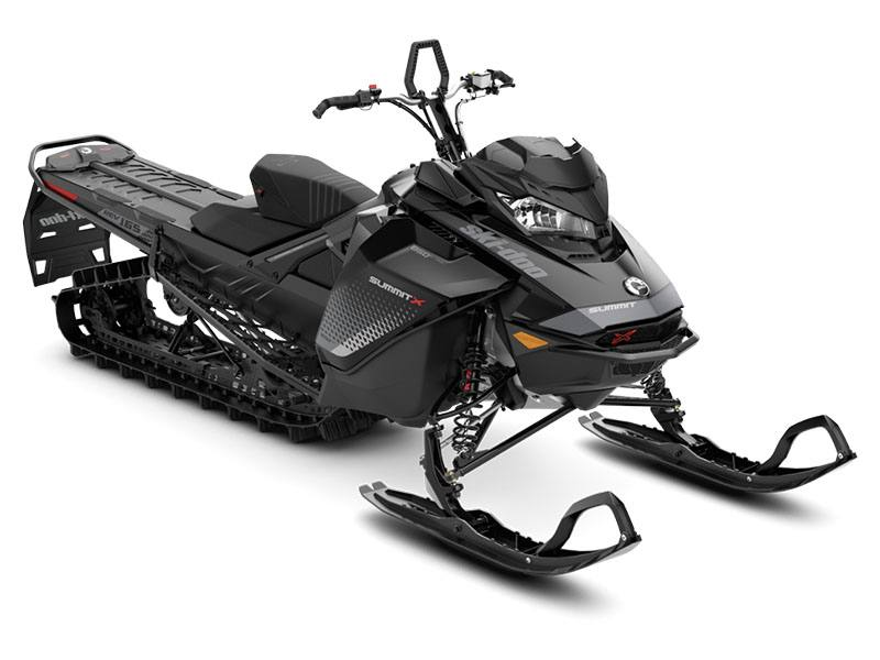 2019 Ski-Doo Summit X 165 850 E-TEC PowderMax Light 2.5 w/ FlexEdge SL in Evanston, Wyoming
