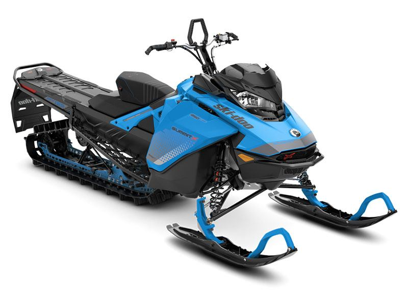 2019 Ski-Doo Summit X 165 850 E-TEC SS PowderMax Light 3.0 H_ALT in Unity, Maine