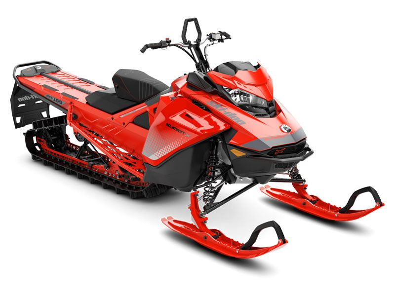 2019 Ski-Doo Summit X 165 850 E-TEC SS PowderMax Light 3.0 S_LEV in Billings, Montana