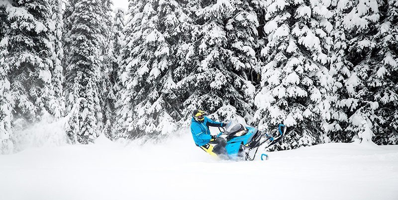 2019 Ski-Doo Backcountry X 850 E-TEC ES Powder Max 2.0 in Baldwin, Michigan