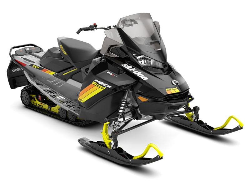 2019 Ski-Doo MXZ Blizzard 600R E-Tec in Clinton Township, Michigan