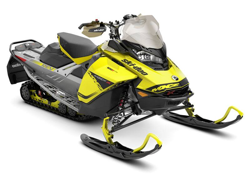 2019 Ski-Doo MXZ X 600R E-TEC Ice Ripper XT 1.25 in Wilmington, Illinois