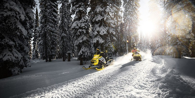 2019 Ski-Doo MXZ X 600R E-TEC Ice Ripper XT 1.25 in Boonville, New York