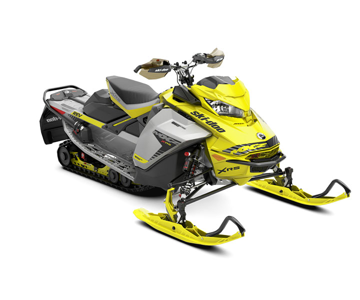 2019 Ski-Doo MXZ X 850 E-TEC Ice Ripper XT 1.25 w / Adj. Pkg. in Wilmington, Illinois