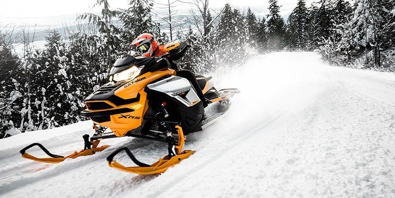 2019 Ski-Doo Renegade X-RS 850 E-TEC Ripsaw 1.25 in Colebrook, New Hampshire