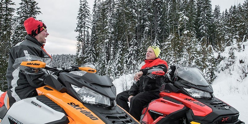 2019 Ski-Doo Renegade X 600R E-TEC Ice Ripper 1.25 w/Adj. Pkg. in Woodinville, Washington