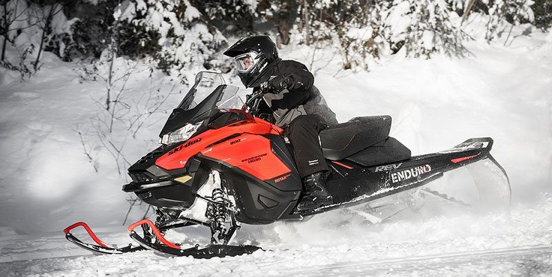 2019 Ski-Doo Renegade X 600R E-TEC Ice Ripper 1.25 w/Adj. Pkg. in Wilmington, Illinois