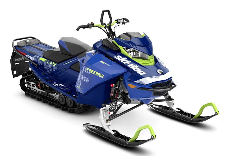 2020 Ski-Doo Freeride 137 850 E-TEC SHOT PowderMax 1.75 w/ FlexEdge in Barre, Massachusetts