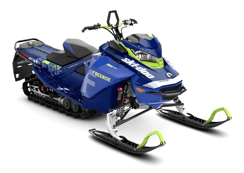 2020 Ski-Doo Freeride 137 850 E-TEC PowderMax 2.25 w/ FlexEdge in Sierra City, California - Photo 1