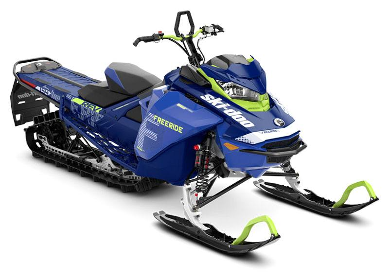 2020 Ski-Doo Freeride 154 850 E-TEC ES PowderMax Light 3.0 w/ FlexEdge SL in Augusta, Maine