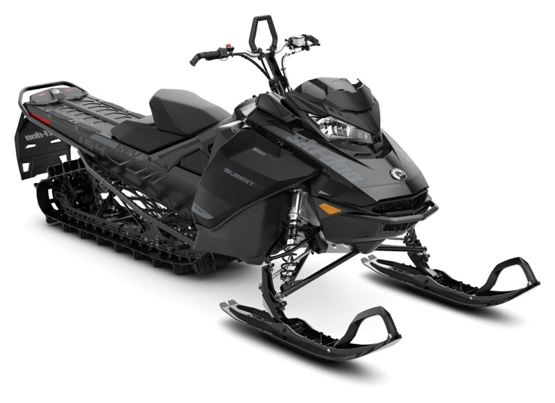 2020 Ski-Doo Summit SP 154 850 E-TEC ES PowderMax Light 2.5 w/ FlexEdge in Presque Isle, Maine - Photo 1