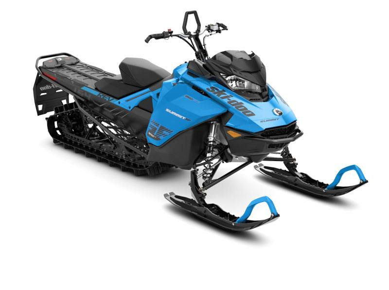 2020 Ski-Doo Summit SP 154 850 E-TEC ES PowderMax Light 2.5 w/ FlexEdge in Colebrook, New Hampshire