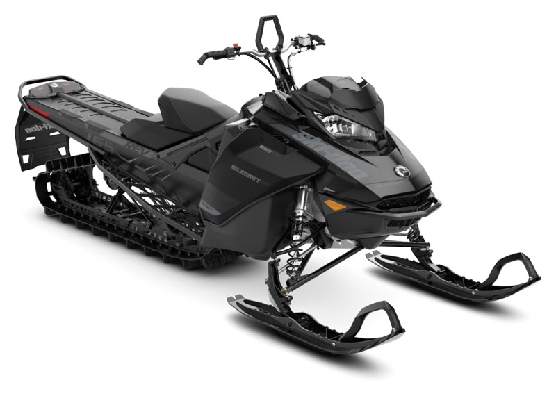 2020 Ski-Doo Summit SP 165 850 E-TEC PowderMax Light 2.5 w/ FlexEdge in Augusta, Maine - Photo 1