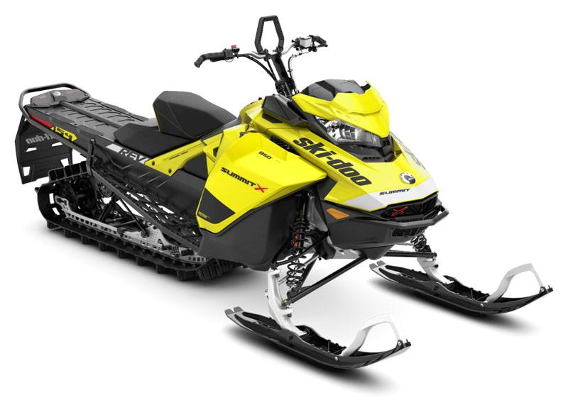2020 Ski-Doo Summit X 154 850 E-TEC ES PowderMax Light 2.5 w/ FlexEdge SL in Augusta, Maine