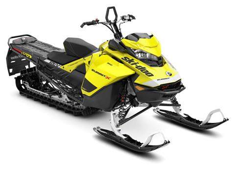 2020 Ski-Doo Summit X 154 850 E-TEC ES PowderMax Light 2.5 w/ FlexEdge SL in Evanston, Wyoming