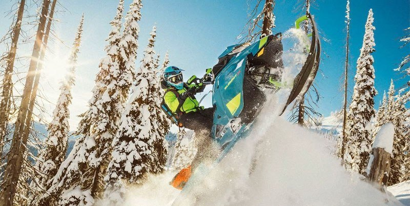 2020 Ski-Doo Summit X 154 850 E-TEC ES PowderMax Light 2.5 w/ FlexEdge SL in Island Park, Idaho - Photo 5