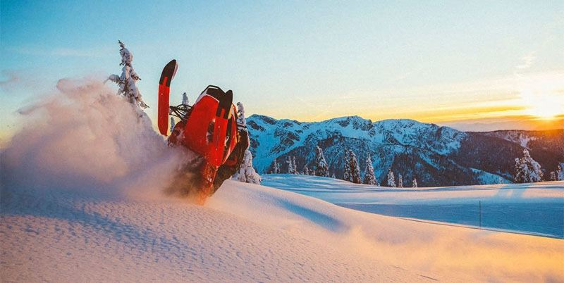 2020 Ski-Doo Summit X 154 850 E-TEC SHOT PowderMax Light 3.0 w/ FlexEdge SL in Presque Isle, Maine