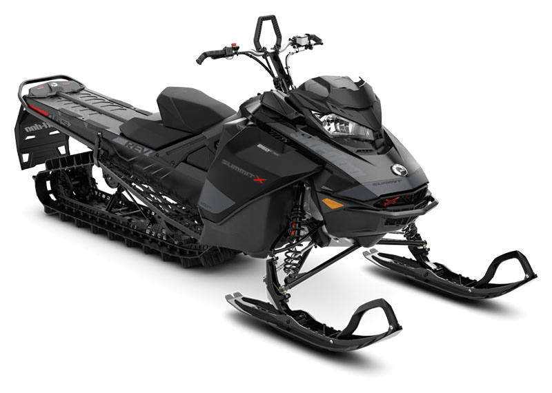 2020 Ski-Doo Summit X 165 850 E-TEC ES PowderMax Light 2.5 w/ FlexEdge SL in Colebrook, New Hampshire