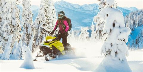2020 Ski-Doo Summit X 165 850 E-TEC ES PowderMax Light 2.5 w/ FlexEdge SL in Hillman, Michigan