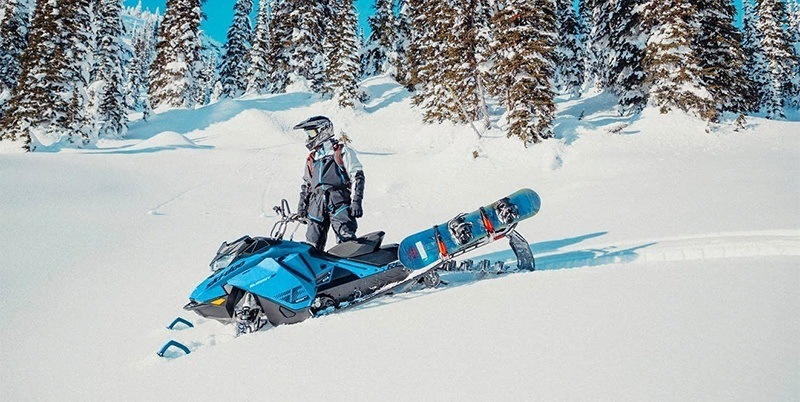 2020 Ski-Doo Summit X 165 850 E-TEC ES PowderMax Light 2.5 w/ FlexEdge HA in Bozeman, Montana - Photo 2