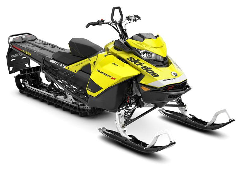 2020 Ski-Doo Summit X 165 850 E-TEC ES PowderMax Light 3.0 w/ FlexEdge SL in Presque Isle, Maine