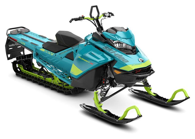 2020 Ski-Doo Summit X 165 850 E-TEC PowderMax Light 2.5 w/ FlexEdge SL in Dickinson, North Dakota