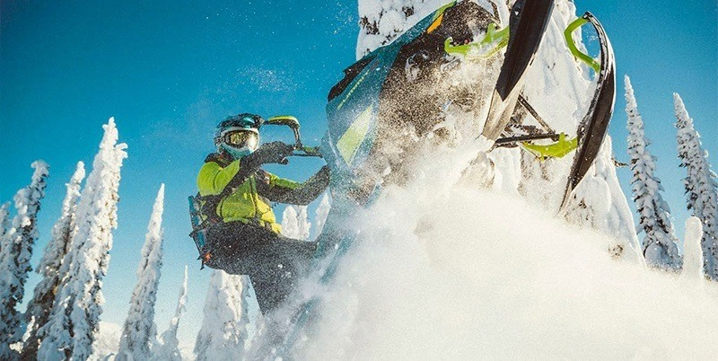 2020 Ski-Doo Summit X 175 850 E-TEC SHOT PowderMax Light 3.0 w/ FlexEdge HA in Butte, Montana - Photo 4